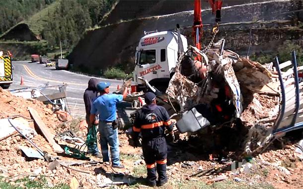 Dos fallecidos deja accidente de tránsito vía Pifo – Papallacta