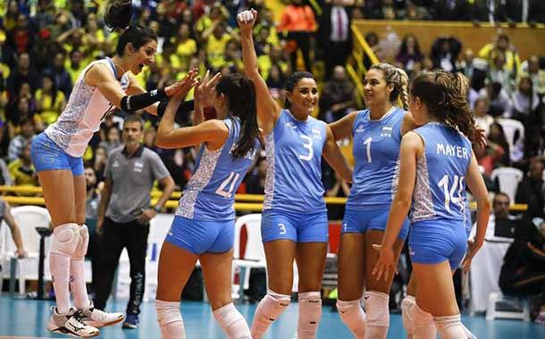 Argentina se clasifica al vóley femenino de Tokio 2020