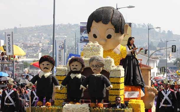 La Fiesta de la Fruta y de las Flores trasciende en la región andina