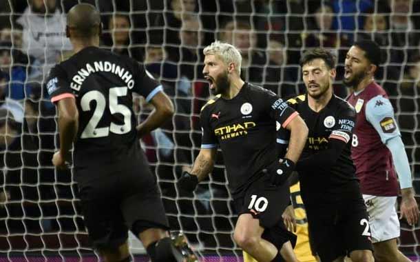 Agüero agiganta su leyenda en la Liga Premier