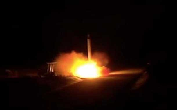 Irán publica dos nuevos videos de los lanzamientos de misiles a los EEUU en Irak