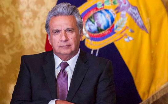 Presidente Moreno rechaza que Conaie pretenda demandar al Estado