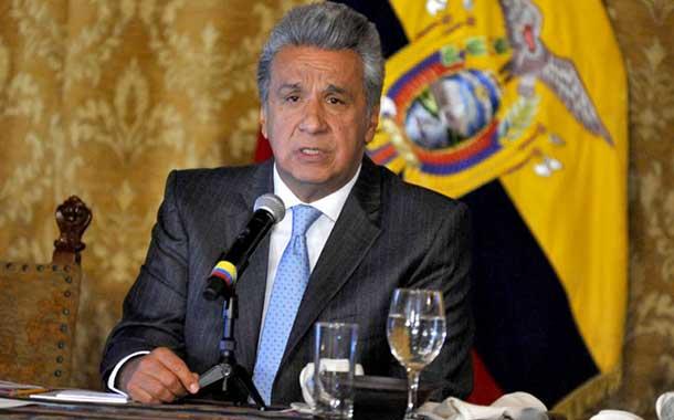 Lenín Moreno felicita a Juan Guaidó por su reelección como presidente del Parlamento de Venezuela