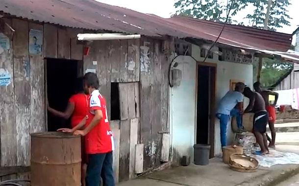 Sistema de agua potable declarado en emergencia en San Lorenzo, Esmeraldas