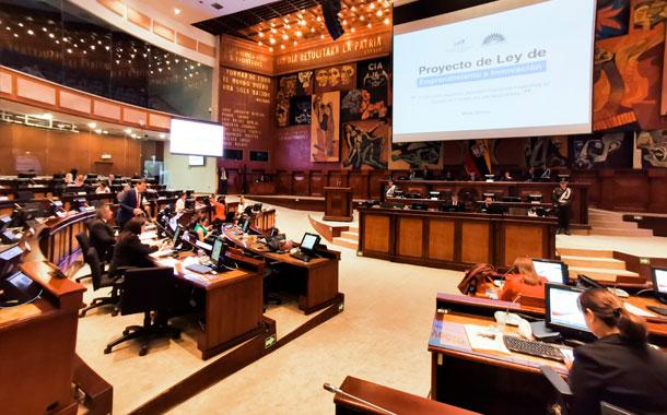 Asamblea Nacional aprobó la Ley de emprendimiento e innovación