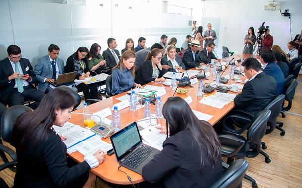 Asamblea Nacional analizó el veto a reformas al Código de la Democracia