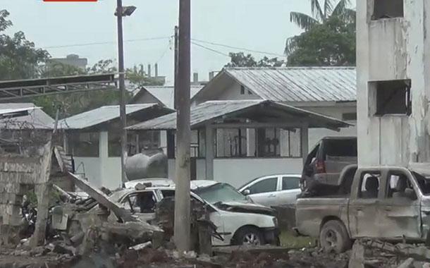 Dos años del atentado al cuartel de policía de San Lorenzo