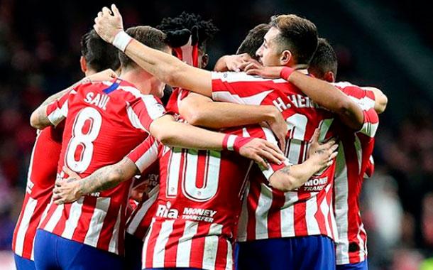 Atlético de Madrid vence al Levante