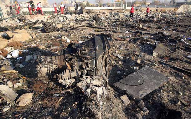 El vídeo que muestra el momento del accidente del avión ucraniano con 176 pasajeros