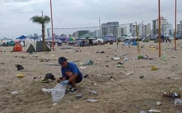 Ministro del Ambiente se pronuncia tras fotos y videos de playas llenas de basura