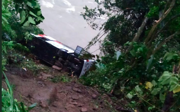Fatal accidente de tránsito en la vía Alóag – Santo Domingo