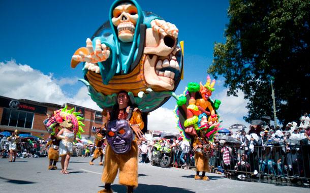 El sur colombiano celebra sus fiestas más importantes de inicio de año