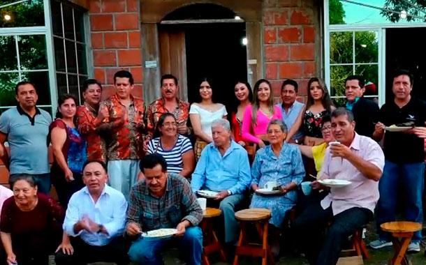 Bolivarenses celebraron su carnaval en tierras Tsáchilas