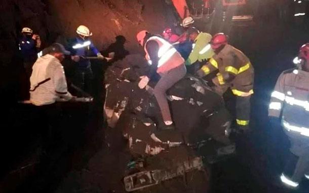 Deslizamiento de tierra deja cinco fallecidos en Penipe