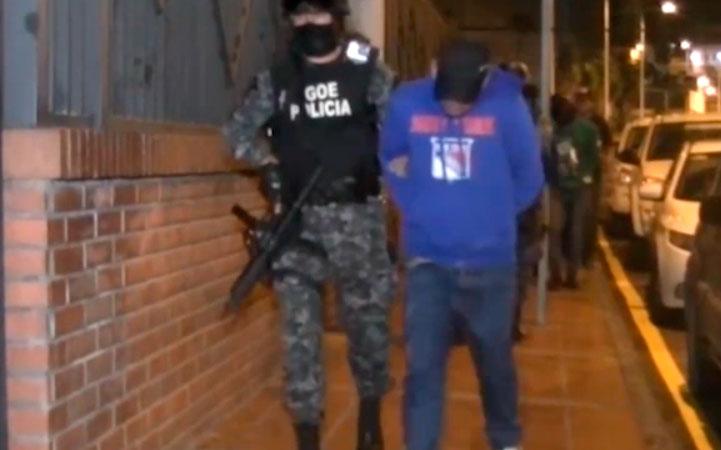 Cae banda dedicada al narcotráfico tras operativo