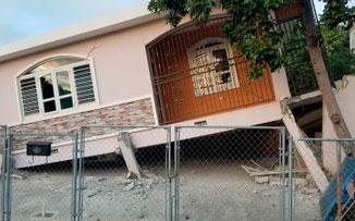 Se derrumban varias viviendas en el suroeste de Puerto Rico debido al temblor