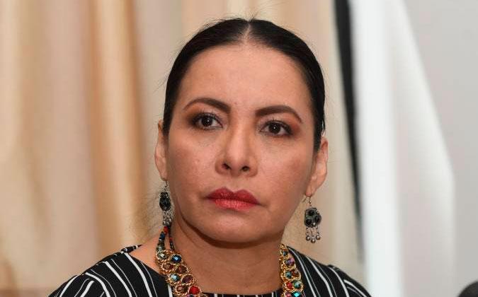 Diana Atamaint acude a la Asamblea para defenderse