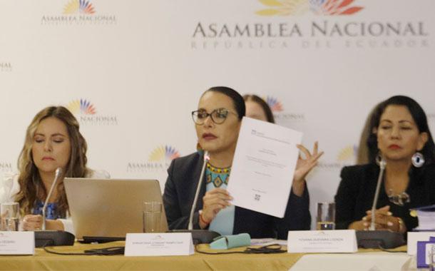 Legisladores niegan que exista un blindaje para Diana Atamaint