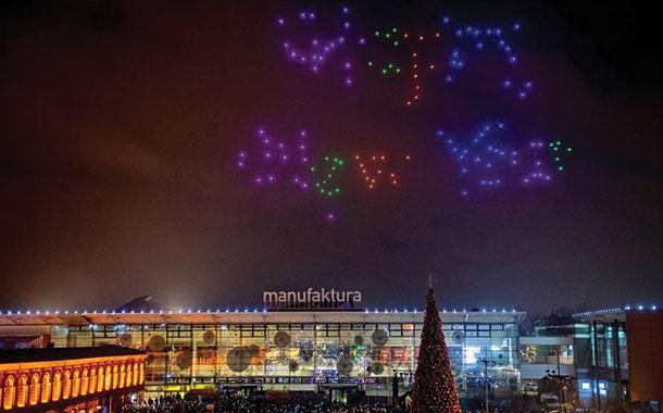 TV china reconoce que grabó espectacular show de drones