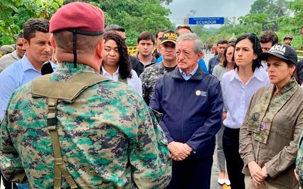 Se realizó el gabinete sectorial de seguridad para la frontera norte