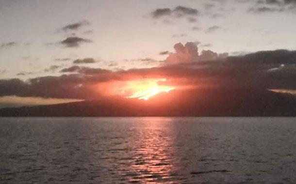 Nueva erupción de volcán La Cumbre en Galápagos