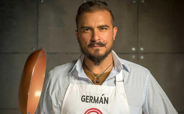 Germán Vivanco cocinó para un famoso futbolista