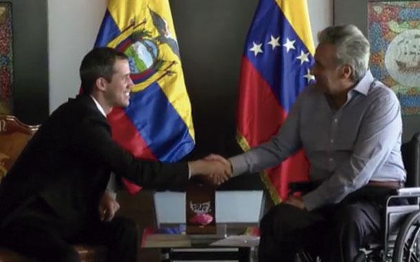 Ecuador ratifica su apoyo a Guaidó