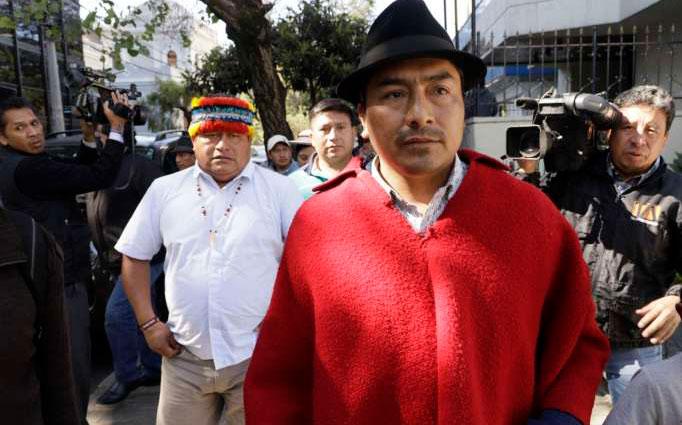 Legisladores se pronuncian contra decisión de dirigentes indígenas