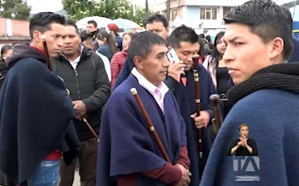 Dos ecuatorianos fueron sometidos a la justicia indígena por robo