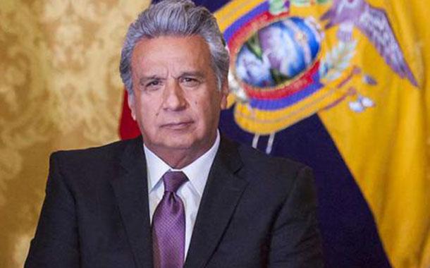 Lenin Moreno asiste a posesión de presidente de Guatemala