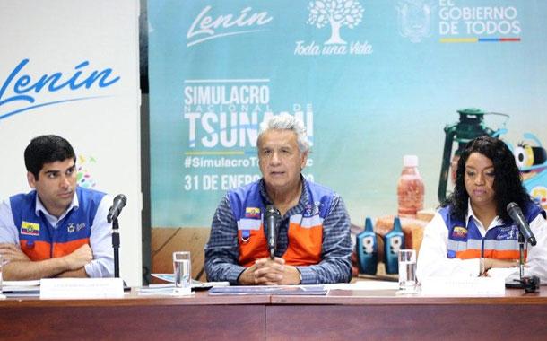 Lenin Moreno pide a la Asamblea tratar con celeridad el Código de Seguridad