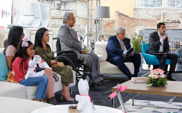 El presidente Moreno participó en el evento