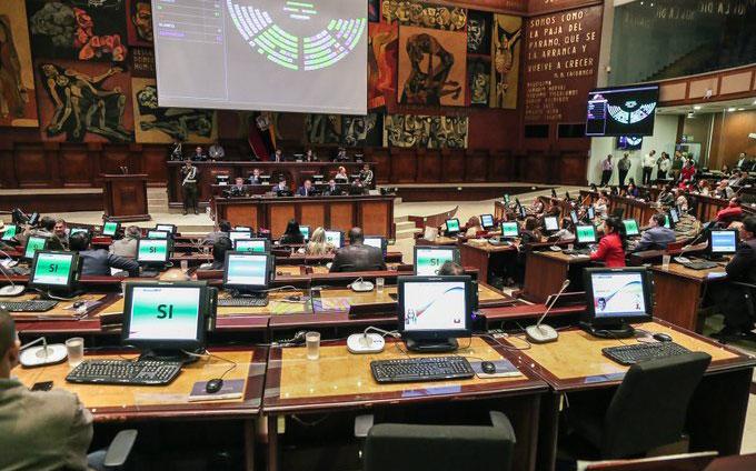 Asamblea dispuso la publicación en el Registro Oficial de la Ley Económica