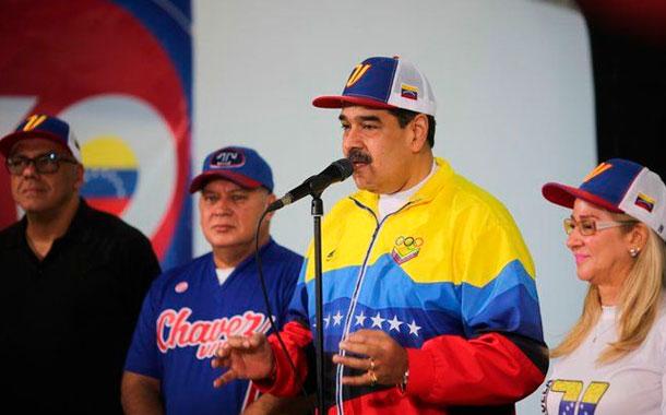 Maduro aseguró que Guaidó no entró al Parlamento por no