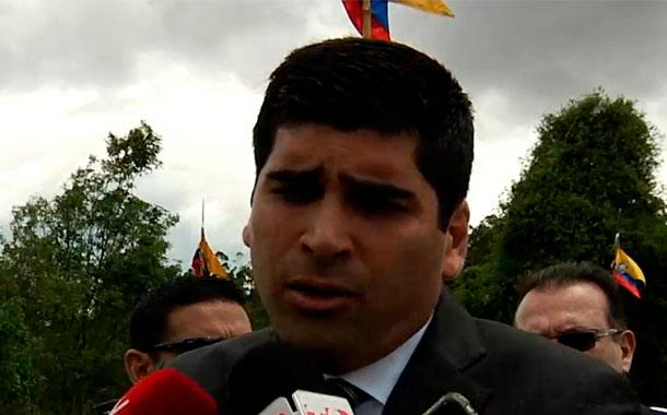 El vicepresidente se refirió a varios temas de coyuntura en evento del Cenepa