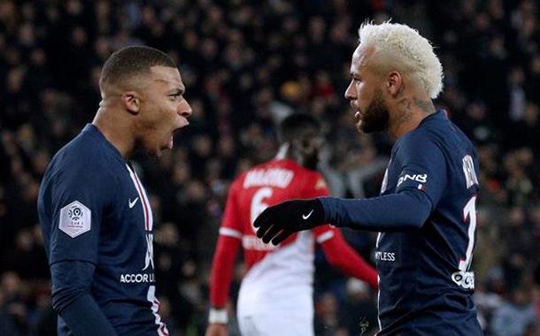 PSG devuelve a la realidad a Mónaco