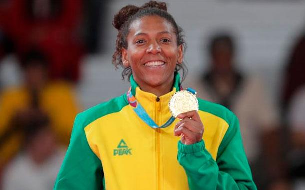 Campeona olímpica brasileña se perderá Tokio por sanción dopaje