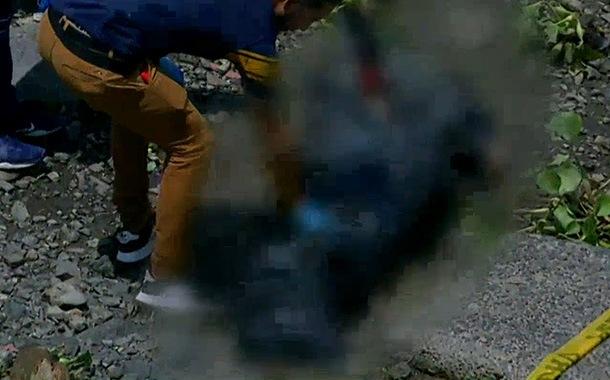 Encontraron un muerto enfundado en Samborondón