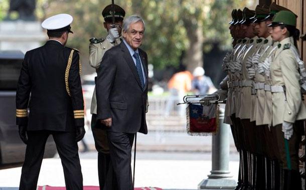 Presidente Piñera gobierna con mínimo apoyo en Chile