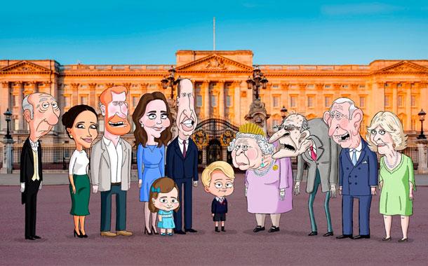 The Prince, una serie animada de comedia satírica sobre la familia real