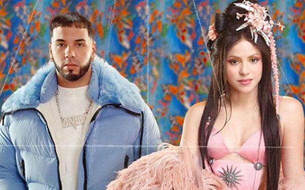 Shakira anunció un sencillo con Anuel AA