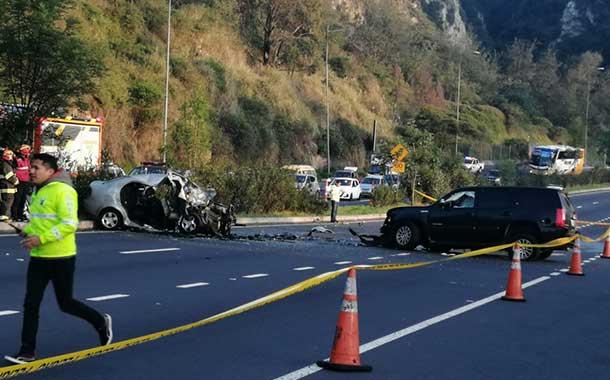 Cinco personas fallecieron en accidentes de tránsito en la Avenida Simón Bolívar en lo que va de 2020