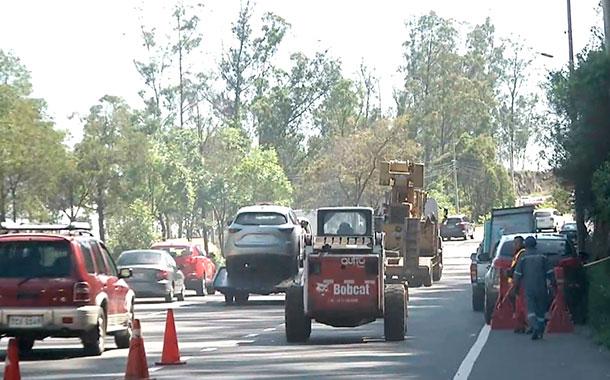 Varios puntos críticos en los taludes de la avenida Simón Bolívar podrían caer