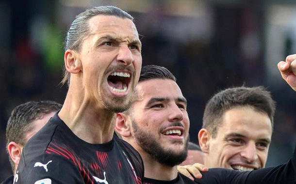 Zlatan Ibrahimovic se reencontró con las redes