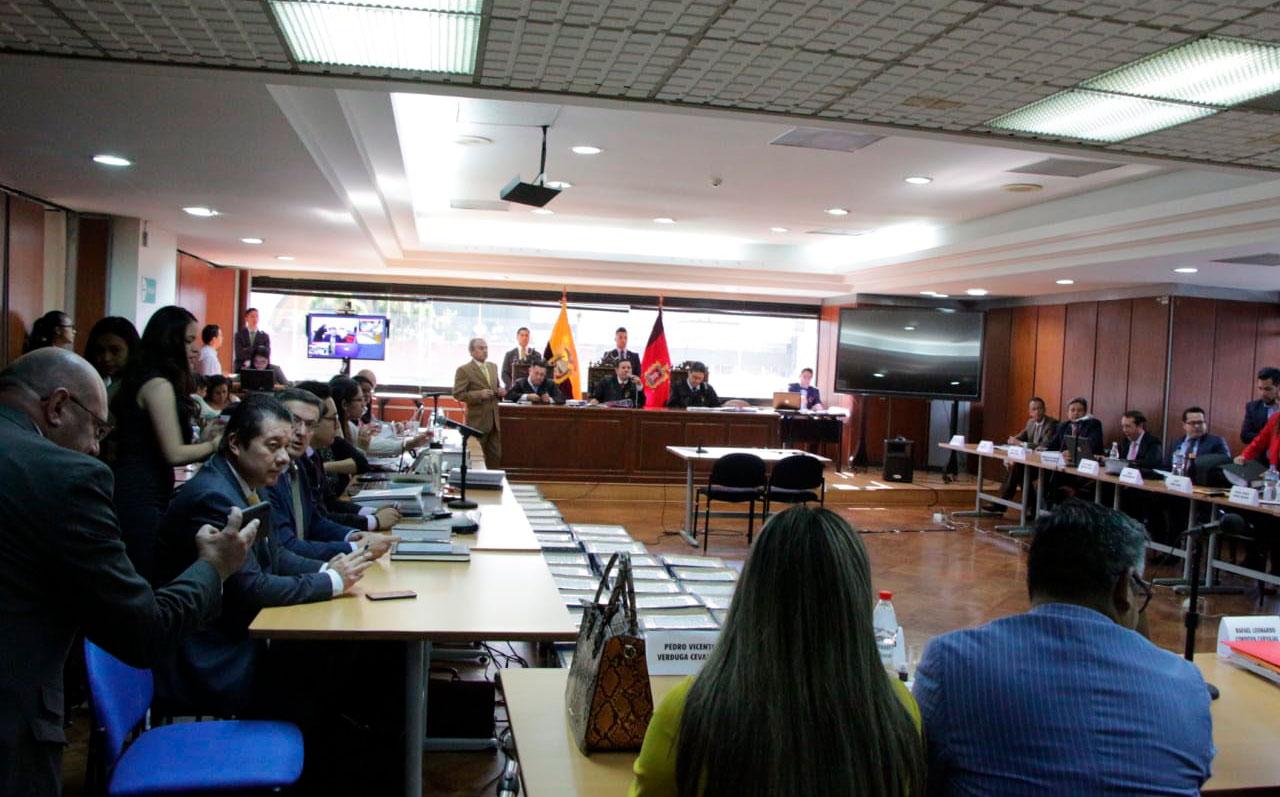 Se instala el quinto día de audiencia de juzgamiento por el caso Sobornos