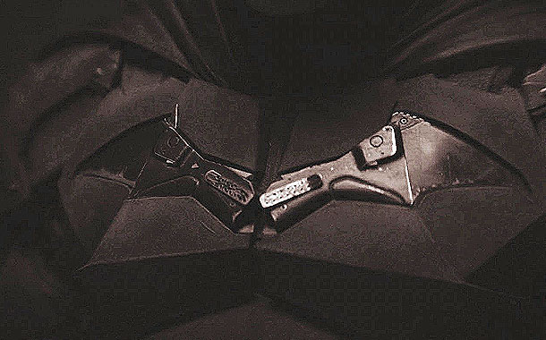 Revelan como luce Robert Pattinson puesto el traje de Batman
