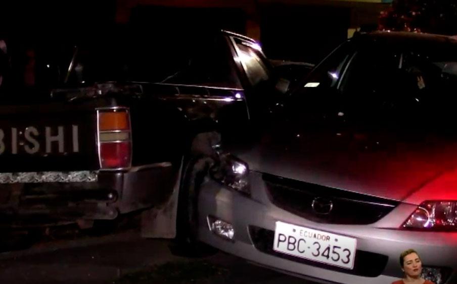 Cinco heridos deja un choque múltiple en Riobamba