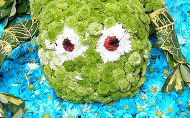 70.000 flores y 40 000 frutas engalanan a Ambato