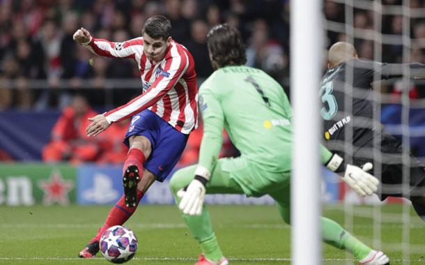 Atlético de Madrid venció a Liverpool
