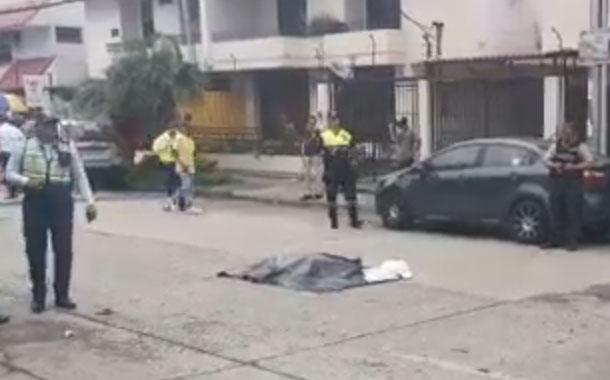Mujer de 85 años muere atropellada por bus en el norte de Guayaquil